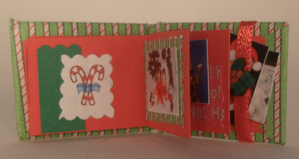 Christmas Scrap/Photo Book - Click Image to Close